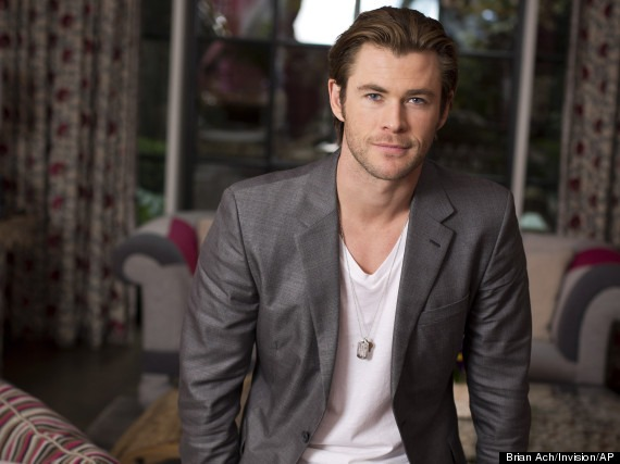 "Australian actor and star of the upcoming film ""Thor: The Dark World,"" Chris Hemsworth poses for a portrait, on Tuesday, Nov. 5, 2013 in New York. (Photo by Brian Ach/Invision/AP)"