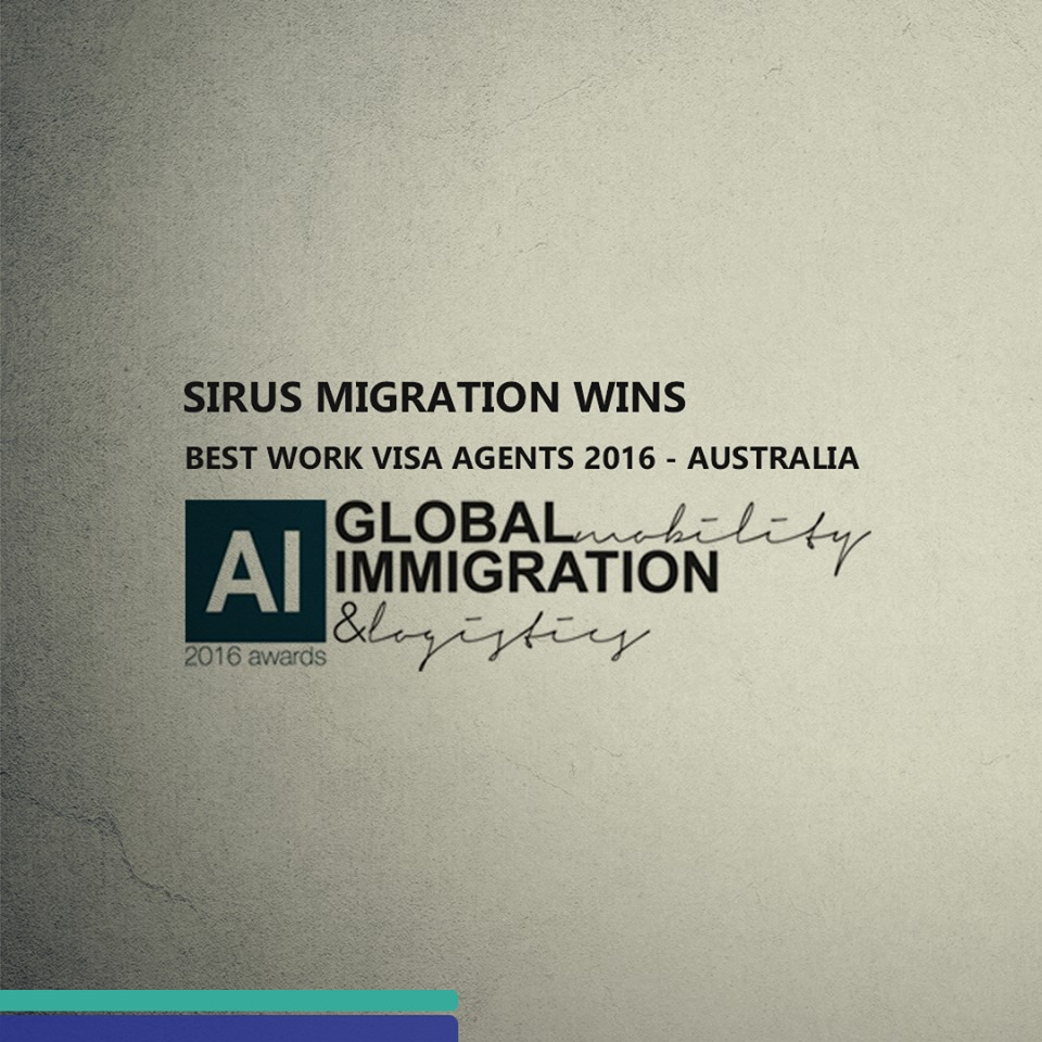 Sirus Migration grabs AI Global Mobility, Immigration & Logistics Awards 2016